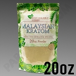 Remarkable Herbs Green Vein Malaysian Kratom Powder 20 oz Bag