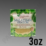 Remarkable Herbs Green Vein Malaysian Kratom Powder 3 oz Bag