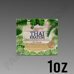 Remarkable Herbs Green Vein Thai Kratom Powder 1 oz Bag