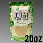 Remarkable Herbs Green Vein Thai Kratom Powder 20 oz Bag