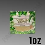 Remarkable Herbs Green Vein Vietnam Kratom Powder 1 oz Bag