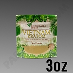 Remarkable Herbs Green Vein Vietnam Kratom Powder 3 oz Bag