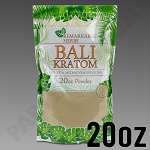 Remarkable Herbs Red Vein Bali Kratom Powder 20 oz Bag
