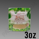 Remarkable Herbs Red Vein Bali Kratom Powder 3 oz Bag
