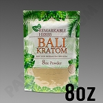 Remarkable Herbs Red Vein Bali Kratom Powder 8 oz Bag 1/2 LB