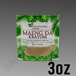 Remarkable Herbs Red Vein Maeng Da Kratom Powder 3 oz Bag