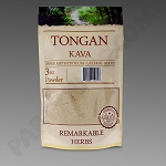 Tongan Kava 3 oz Lateral Root Powder by Remarkable Herbs