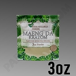 Remarkable Herbs White Vein Maeng Da Kratom Powder 3 oz Bag