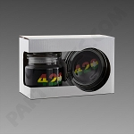 Rasta 420 Jar & Ashtray Set