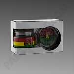 Rasta Roast & Toast Jar & Ashtray Set