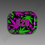 Rolling Tray Small 420 Retro