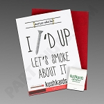 Kush Kards - 4pk - Screwed Up for Pre-Roll (Gift Card)