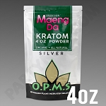 O.P.M.S. Silver - Green Vein Maeng Da POWDER 4 oz Kratom