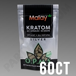 OPMS Kratom Silver Malay Special Reserve 36g, 60 caps