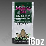 O.P.M.S. Silver - Red Vein Maeng Da POWDER 16 oz Kratom