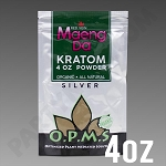 O.P.M.S. Silver - Red Vein Maeng Da POWDER 4 oz Kratom