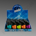 Special Blue Mini Rubber Torch Lighters 20ct (Ground Ship ONLY)