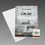 Kush Kards - 4pk - Stoned Over You for Pre-Roll (Gift Card)