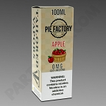 Tailored Vapors Pie Factory Apple 100 ML / 0 MG