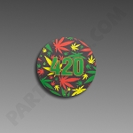 V Syndicate Slikks Small - 420 Rasta