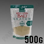 Whole Herbs Kratom; Red Vein Bali Powder 500g 1/2 kilo 17.5 oz Bag