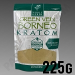 Whole Herbs Kratom - Green Vein Borneo Powder 225g / 8 oz Bag