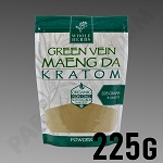 Whole Herbs Kratom - Green Vein Maeng Da Powder 225g / 8 oz Bag
