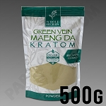 Whole Herbs Kratom - Green Vein Maeng Da Powder 500g / 1/2 kilo / 17.5 oz Bag