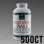 Whole Herbs Kratom - Red Vein Bali 300g, 500 Count Bottle