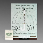 Kush Kards - 4pk - Under The Weather for Pre-Roll (Gift Card)