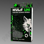 Wulf Uni Cartridge Vaporizer Green Splatter