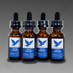 Free The Leaf CBD & Terpenes 3000mg Blueberry Og 30ml 4pk