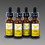 Free The Leaf CBD & Terpenes 3000mg Pineapple Express 30ml 4pk