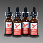 Free The Leaf CBD & Terpenes 3000mg Strawberry Ak 30ml 4pk