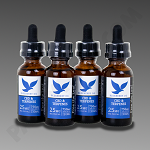 Free The Leaf CBD & Terpenes 750mg Blueberry Og 30ml 4pk