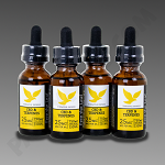 Free The Leaf CBD & Terpenes 750mg Pineapple Express 30ml 4pk