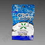 Green Roads CBD Shatter .5 G Blueberry OG