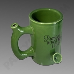 Roast & Toast Ceramic Mug Pipe Green