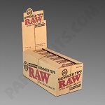 Raw Natural Perforated Gummed Tips