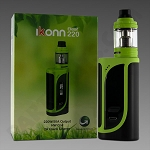 Ikonn 220 by Eleaf Green & Black (CLOSEOUT SPECIAL!!)