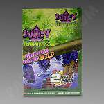 Juicy Hemp Wraps Grapes Gone Wild 2Pk - 25Ct Bx