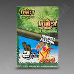 Juicy Hemp Wraps Tropical Passion 2Pk - 25Ct Bx