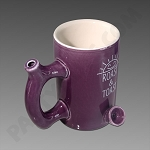Roast & Toast Ceramic Mug Pipe Purple