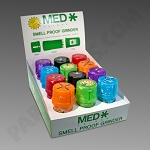 Medtainer Shell Shock 12 Ct Display