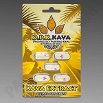 OPK Kava Extract Capsules 5 ct in blister pack (Organically Purified Kava)