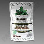 OPMS Kratom Silver Malay Special Reserve 30g, 60 caps