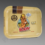 Raw Girl Large Rolling Tray