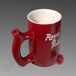 Roast & Toast Ceramic Mug Pipe Red