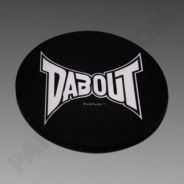"DabPadz 5"" Round Fabric Top Dabout"