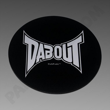 "DabPadz 8"" Round Fabric Top Dabout"